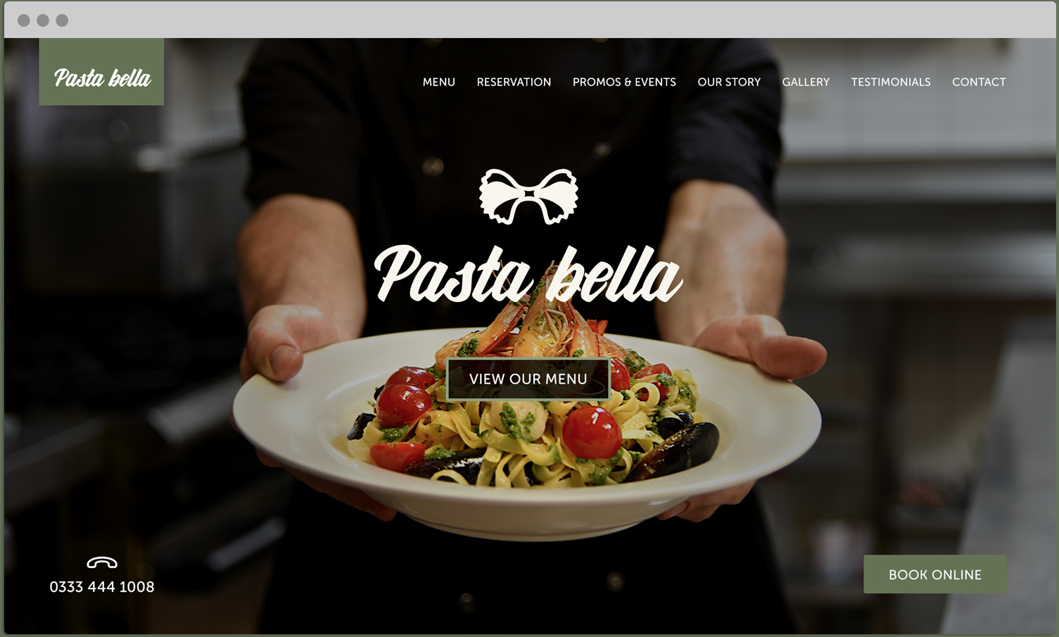 Mouth Watering Websites