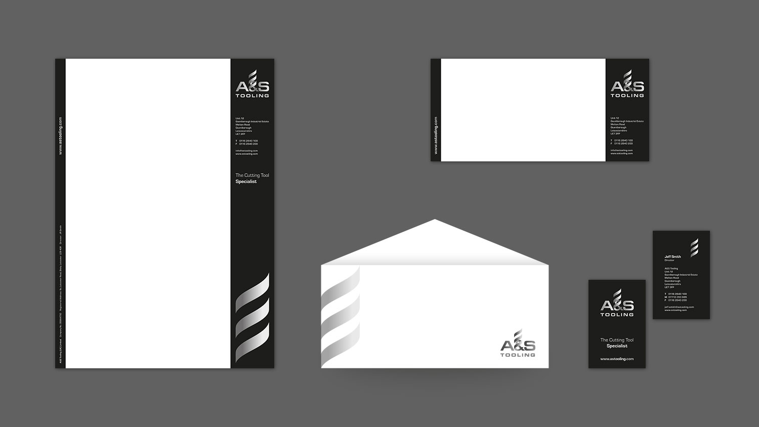 A&S Tooling Stationary