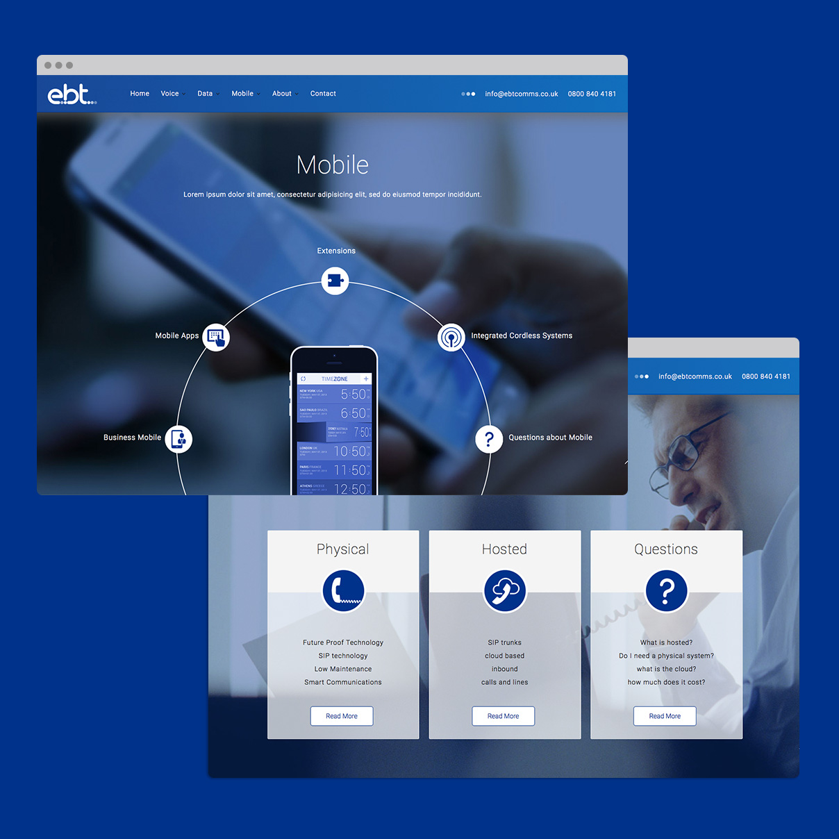 EBT Communications - Web