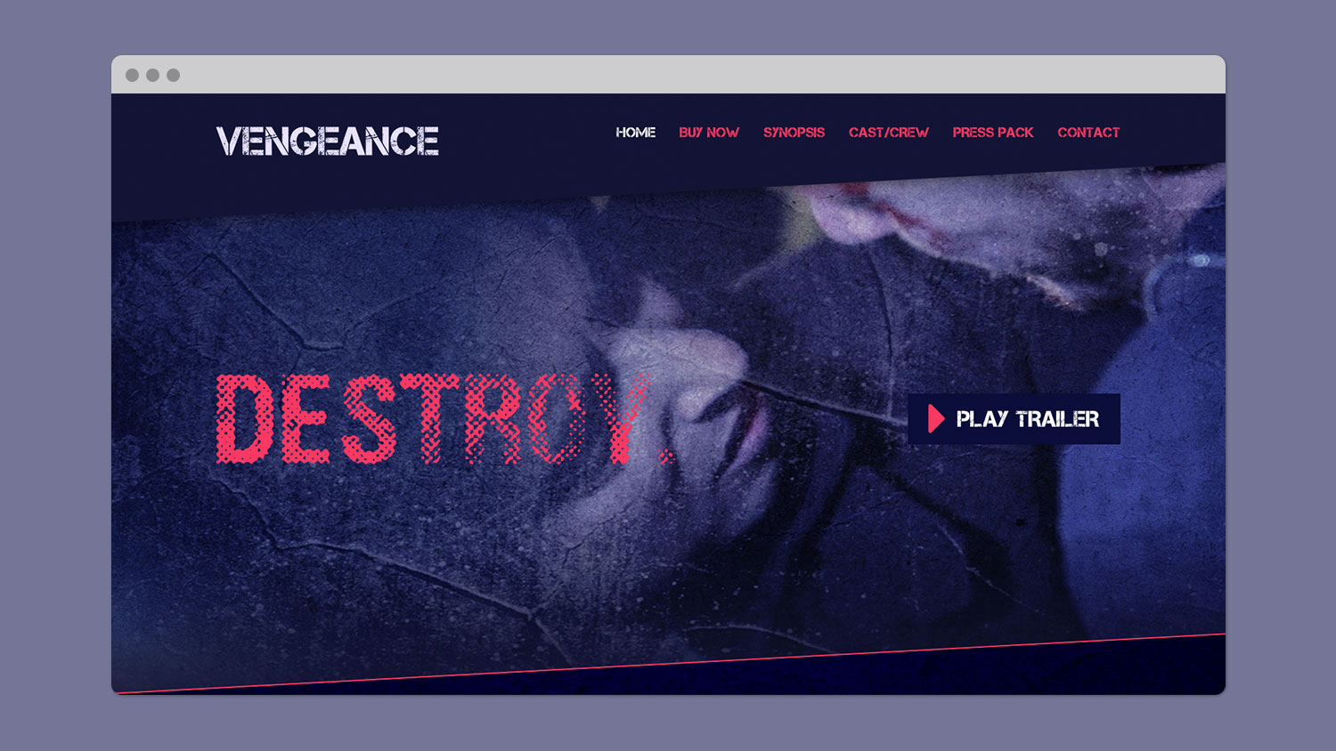 Vengeance Homepage Slideshow